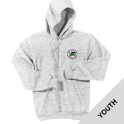 PC90YH - Caddo Lodge Logo - EMB - Youth Pullover Hoodie