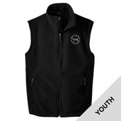 Y219 - OOTAE025 - EMB - Youth Fleece Vest
