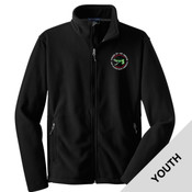 Y217 - OOTAE025 - EMB - Youth Fleece Jacket